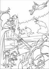 Open Season coloring page (014)