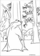 Open Season coloring page (015)