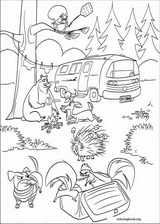 Open Season coloring page (016)
