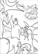 Open Season coloring page (021)
