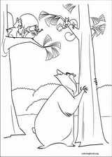 Open Season coloring page (025)