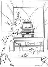 Open Season coloring page (030)