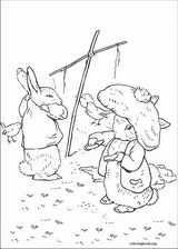 Peter Rabbit coloring page (001)