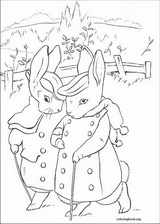 Peter Rabbit coloring page (002)