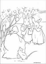 Peter Rabbit coloring page (004)