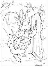 Peter Rabbit coloring page (006)