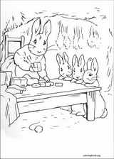 Peter Rabbit coloring page (009)