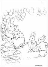 Peter Rabbit coloring page (010)