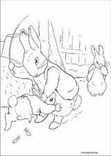 Peter Rabbit coloring page (012)