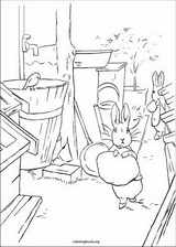 Peter Rabbit coloring page (013)
