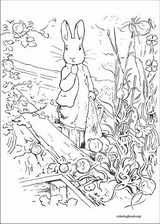 Peter Rabbit coloring page (014)