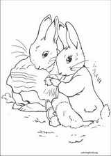 Peter Rabbit coloring page (018)