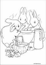 Peter Rabbit coloring page (020)