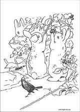 Peter Rabbit coloring page (021)