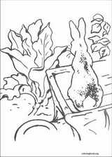 Peter Rabbit coloring page (024)