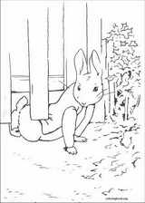 Peter Rabbit coloring page (030)