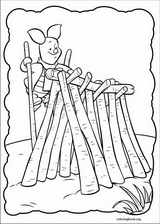 Piglet coloring page (003)
