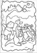 Piglet coloring page (029)