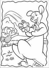 Piglet coloring page (033)