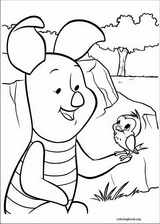 Piglet coloring page (034)