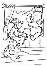 Piglet coloring page (035)