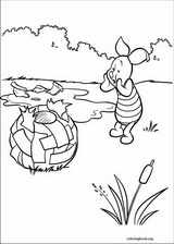 Piglet coloring page (051)