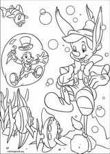 Pinocchio coloring page (010)