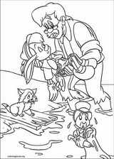 Pinocchio coloring page (011)