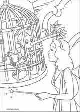 Pinocchio coloring page (015)