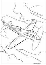 Planes coloring page (013)