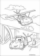 Planes coloring page (018)