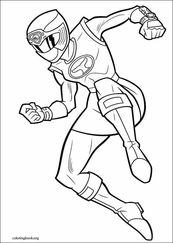 - Power Rangers Coloring Page (093) @ ColoringBook.org