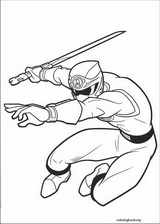 Power Rangers coloring page (001)