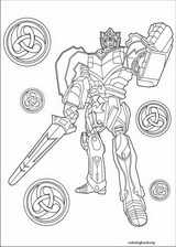 Power Rangers coloring page (002)