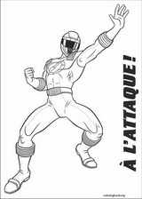 Power Rangers coloring page (011)