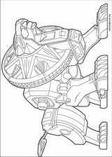 Power Rangers coloring page (017)