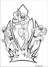 Power Rangers coloring page (022)