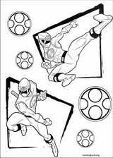 Power Rangers coloring page (023)