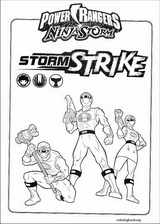 Power Rangers coloring page (027)