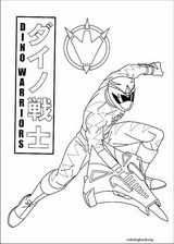 Power Rangers coloring page (029)