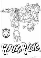 Power Rangers coloring page (030)