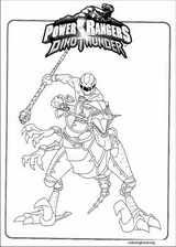 Power Rangers coloring page (035)