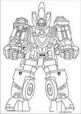 Power Rangers coloring page (038)