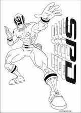 Power Rangers coloring page (039)