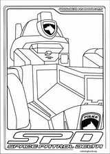 Power Rangers coloring page (041)