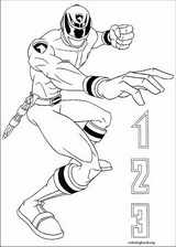 Power Rangers coloring page (044)