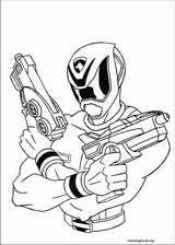 Power Rangers coloring page (047)