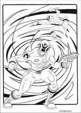Power Rangers coloring page (048)