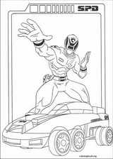 Power Rangers coloring page (050)