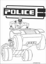 Power Rangers coloring page (057)